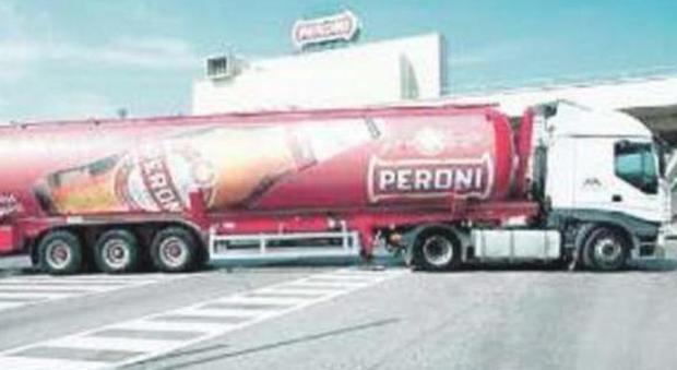Lo stabilimento Peroni