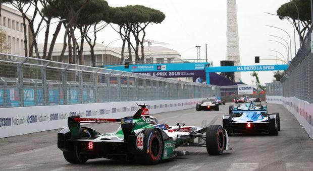 La Formula E a Roma lo scorso anno