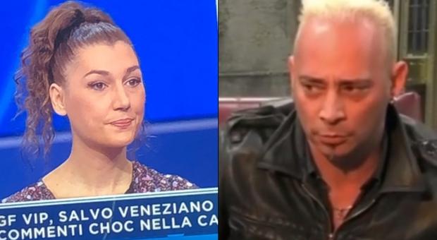 Salvo Veneziano squalificato dal Gf Vip, la moglie: «Non è un violento, è molto dispiaciuto»