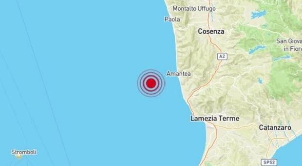 Terremoto, sciame sismico a Cosenza: nuova scossa di 3.4, dopo quella di 4.2 all'alba