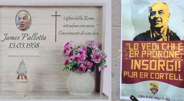 Caso De Rossi, striscioni ultrà contro Pallotta con insulti e minacce: «Pija er cortello»