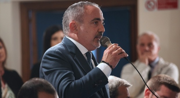 Il sindaco di Stroncone Giuseppe Malvetani