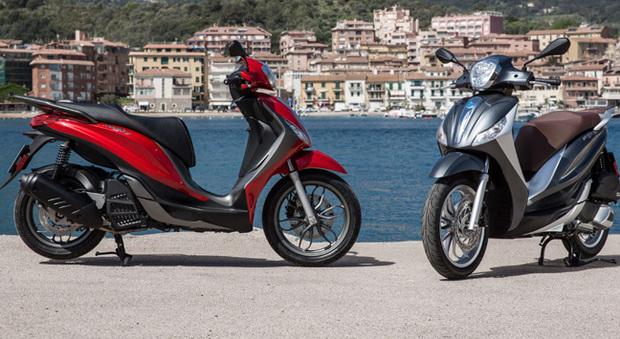 Piaggio Medley, lo scooter che somma il meglio di Beverly e Liberty e, in più, lancia un nuovo motore quattro valvole. Euro 4, che definisce nuovi parametri di riferimento nel segmento 125-150 centimetri cubici