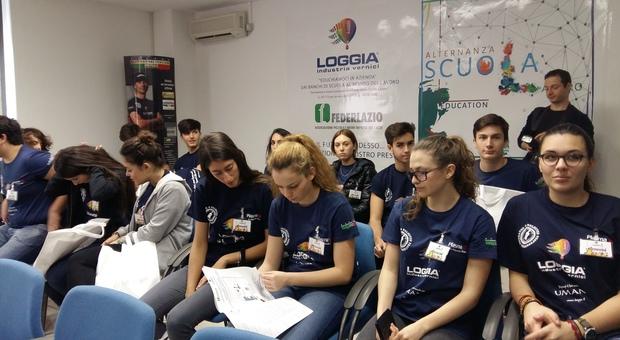 Gli studenti della III A del Liceo Grassi di Latina