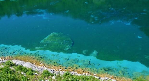 Il lago di Cornino a Forgaria nel Friuli