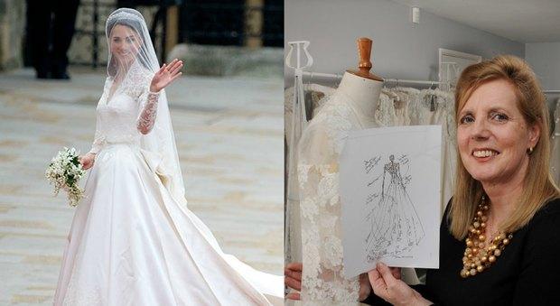 Vestiti Da Sposa Kate Middleton.Kate Middleton L Abito Da Sposa E Stato Copiato Stilista Inglese