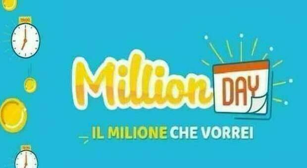 Million Day, diretta estrazione di oggi martedì 28 luglio 2020