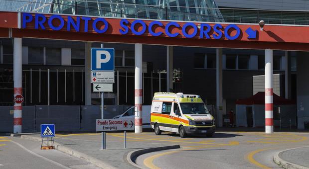 Il Pronto soccorso dell'ospedale dell'Angelo di Mestre