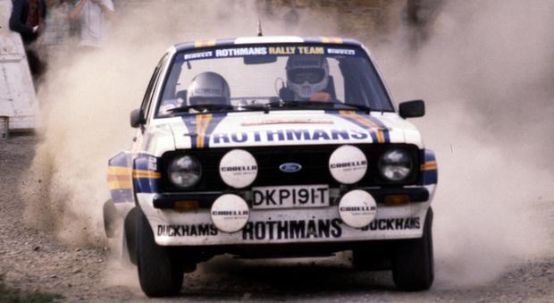Ari Vatanen su Ford Escort RS1800 al rally di San Remo 1981
