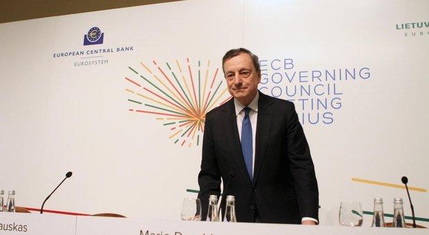 Coronavirus, Draghi: «Agire subito senza preoccuparsi dell'aumento del debito pubblico»