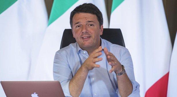 Renzi: «Bloccare i pieni poteri a Matteo Salvini un dovere civile»
