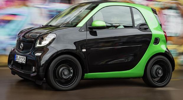 La nuova Smart fortwo electric drive