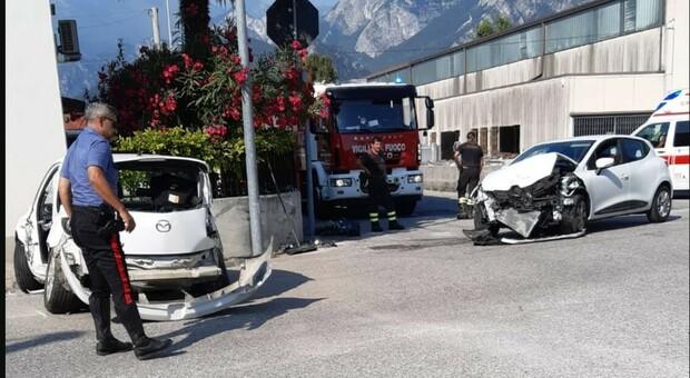 L'incidente di oggi pomeriggio a Gemona