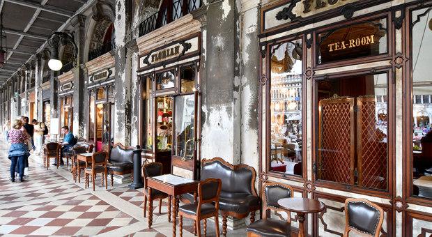 Il caffè Florian in Piazza San Marco