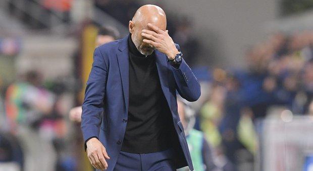 Inter - Roma, il tecnico nerazzurro Luciano Spalletti