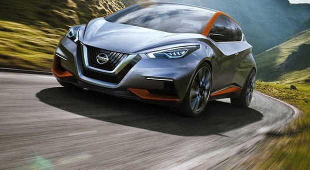 La Nissan Sway concept esposta a Ginevra