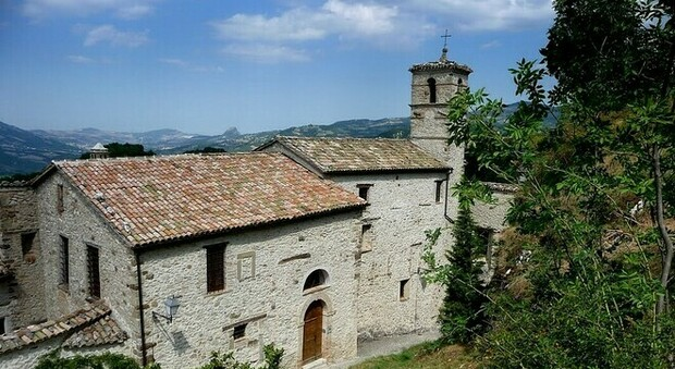 Convento delle Sante Caterina e Barbara a Santarcangelo di Romagna (foto di Johnny Farabegoli)