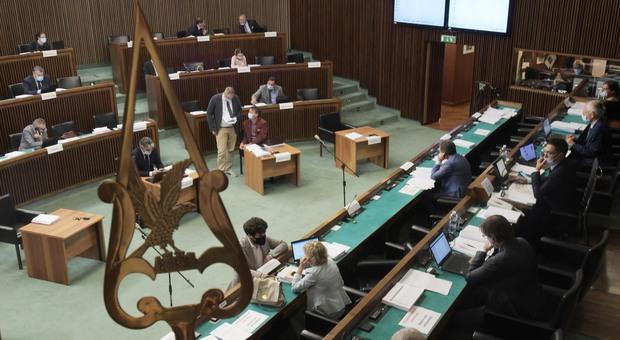 L'aula del consiglio regionale del Friuli Venezia Giulia a Trieste