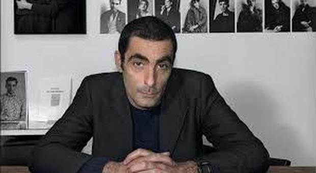 Lo scrittore Sandro Bonvissuto