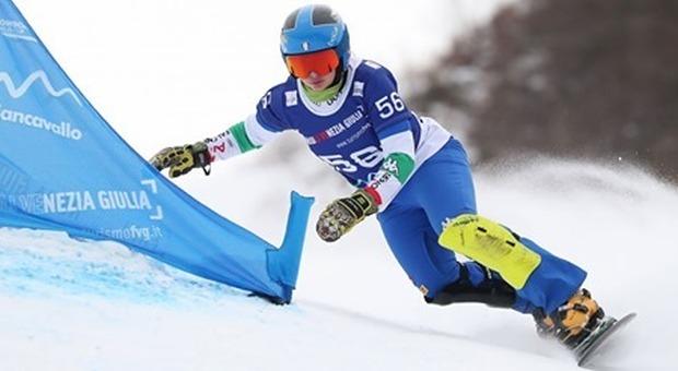 A Piancavallo la tappa della Coppa del Mondo di snowboard