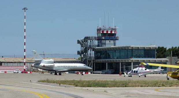 L'aeroporto Sanzio di Falconara