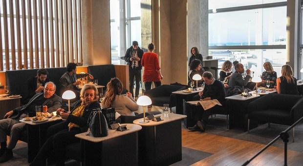 British Airways punta su Fiumicino sala vip con wi-fi, relax e buon cibo