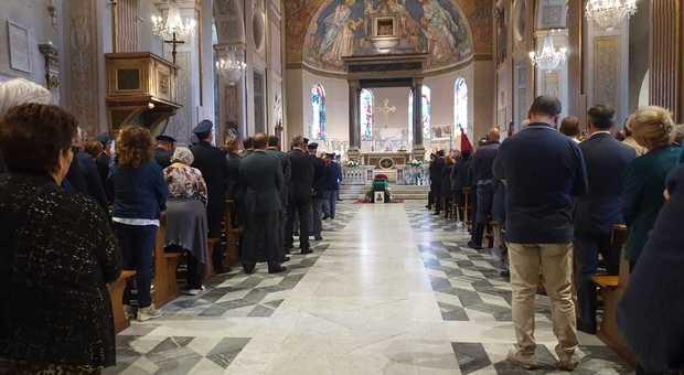 I funerali (foto LUCIANO SCIURBA)
