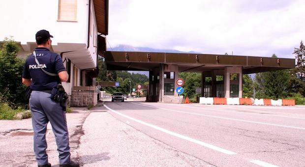 Controlli alla frontiera di Tarvisio