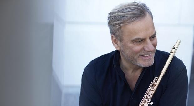 Il flautista Andrea Griminelli