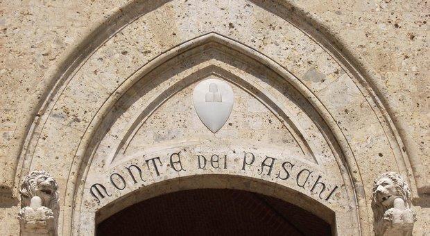 La sede di Mps a Siena