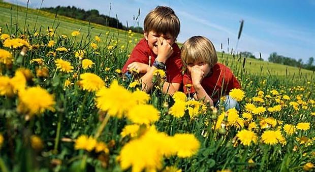 Asma, rinite, dermatite: allergie, è boom fra i bambini. Uno su due è a rischio