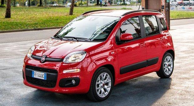 La Fiat Panda è l'auto più immatricolata dalle società di renting