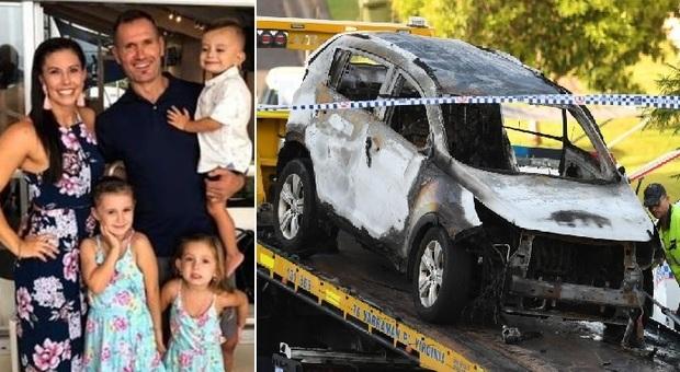 L'ex rugbista Rowan Baxter uccide moglie e tre figli e si ammazza: i corpi carbonizzati in auto