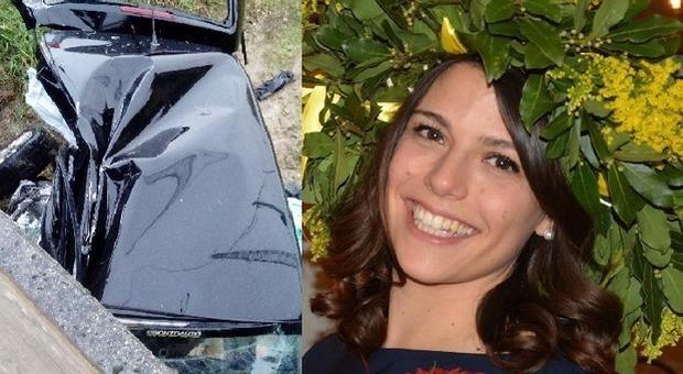 Incidente, Chiara Dorotea sbanda con l'auto e finisce sotto a un ponte con l'auto: muore a 26 anni