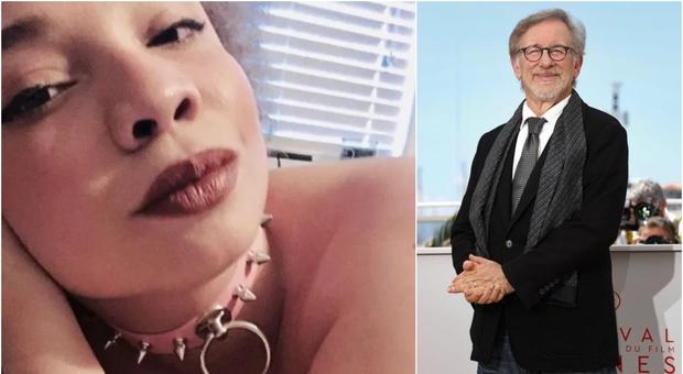Mikaela, la figlia di Steven Spielberg, si dà al porno: «Papà è d'accordo, da piccola ho subito abusi»