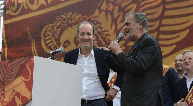 Luca Zaia e Roberto Calderoli