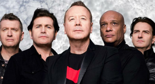 I Simple Minds storica band di Glasgow