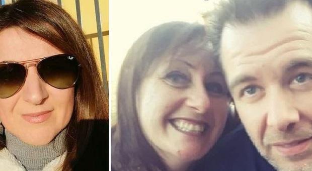 Stefania Crotti, la vittima (a sinistra) e la presunta omicida Chiara Alessandri