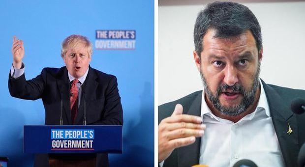Elezioni Regno Unito, esultano Salvini e Meloni: «La coerenza paga, mentre noi soggetti a minoranza»