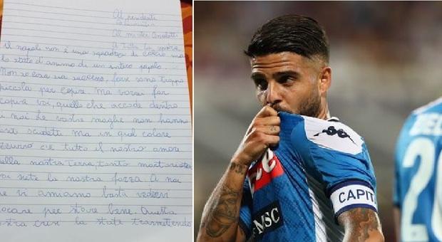Bimba malata scrive ai calciatori del Napoli: «Siete la mia forza»