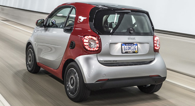 La nuova Smart Electric Drive