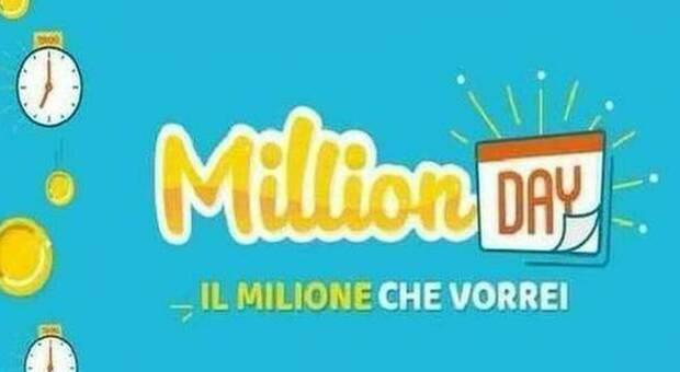 Million Day, diretta estrazione di oggi giovedì 23 luglio 2020