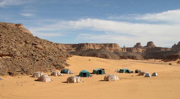 Takarkori, nella Libia sudoccidentale