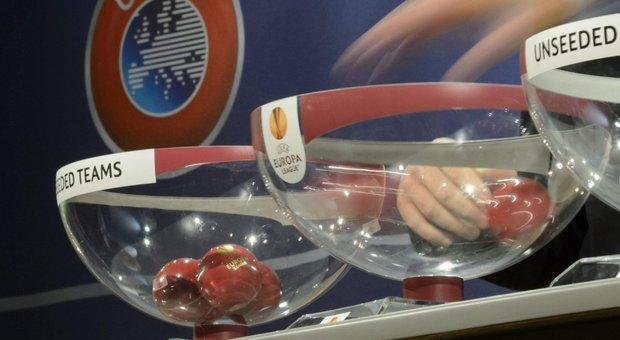 Europa League, girone complicato per la Lazio, Roma con il Gladbach