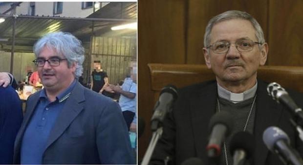 Don Andrea Contin, monsignor Claudio Cipolla, don Roberto Cavazzana