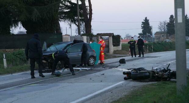 Le drammatiche immagini dell'incidente
