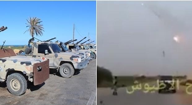 Libia, raid aerei di Sarraj bloccano l'avanzata delle truppe di Haftar