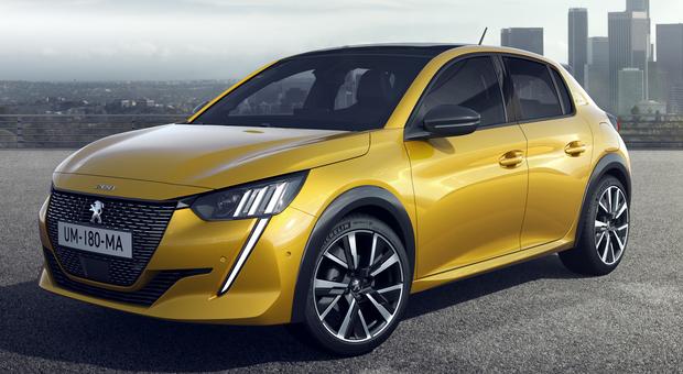 La nuova Peugeot 208 è disponibile anche in versione  elettrica
