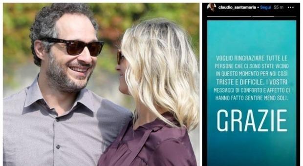 Claudio Santamaria e Francesca Barra hanno perso il bambino: l'attore rompe il silenzio su Instagram