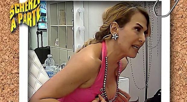 Barbara D'Urso vittima nella prima puntata di